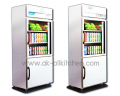 Standing cabinets stainless steel 2-door 2 Degree at RIS-075S, RIS-080SRT.