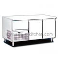 Counters, cabinets, stainless steel door 2 YPC-120S.