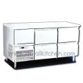 Counters, stainless steel cabinet 4 drawers, YPC-150D.
