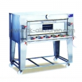 Stainless steel oven tray with 2 gas. BO-1