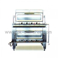 Stainless steel oven tray with 2 gas BO-2