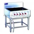 4 hot stove burner.