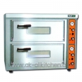 Stainstainless steel Electric Pizza Oven ET-DBS-2C