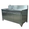 Counter zinc.